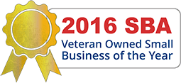 2016 SBA Veteran Owned Small Business of the Year